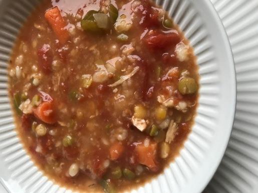 Hearty Tomato Grain Soup