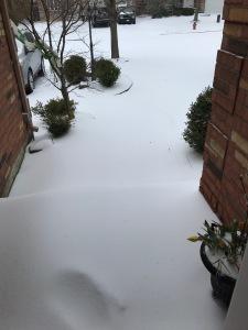 Snow in April 2018